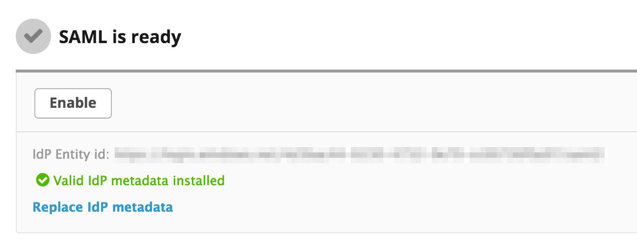 Configuring Azure AD as a SAML IdP