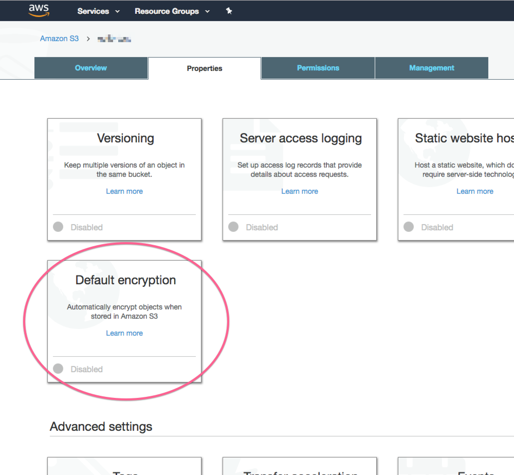 Archives on AWS S3